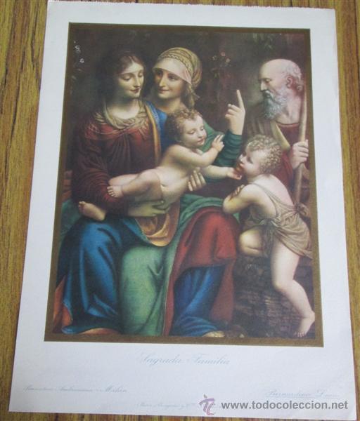 Arte: 7 laminas de pintura religiosa - Foto 10 - 42016875