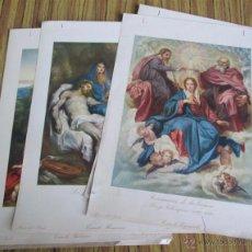 Arte: 11 LAMINAS DE PINTURA - MUSEO DEL PRADO. Lote 42017051
