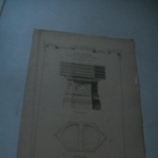 Arte: 4 , ANTIGUA LÁMINAS-FONTS-BAPTISMAUS-(PILAS DE BAUTISMO).- S/F-MIDE 31 X 20.5 CM. 2 HOJAS. Lote 42416115