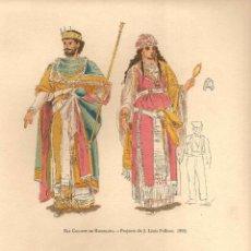 Arte: ELS GEGANTS DE BARCELONA - PROJECTA DE J. LLUÍS PELLICER, 1892. Lote 42503775