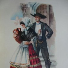 Arte: LAGARTERA TOLEDO TRAJES ESPAÑOLES.ALFREDO IBARRA.1950.19X26.5. Lote 43002813