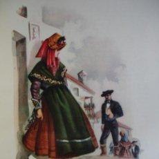 Arte: MONTEHERMOSO CACERES TRAJES ESPAÑOLES.ALFREDO IBARRA.1950.19X26.5. Lote 43002833