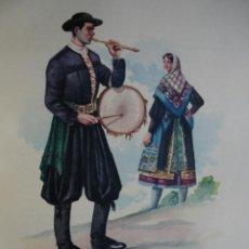 Arte: MARAGATERIA LEON TRAJES ESPAÑOLES.ALFREDO IBARRA.1950.19X26.5. Lote 43002855