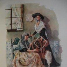 Arte: ISLAS BALEARES TRAJES ESPAÑOLES.ALFREDO IBARRA.1950.19X26.5. Lote 43003336