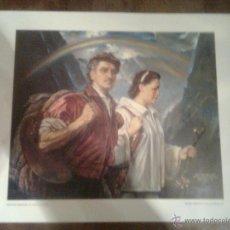 Arte: KRISTIAN KREKOVIC - EL ARTISTA Y SU MUJER -1951-. PINTOR CROATA-PERUANO MUSEO PALMA DE MALLORCA. Lote 72014226