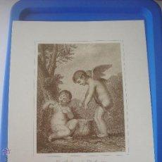 Arte: LAMINA LA PUIFSANCE DE L'AMOUR 30 X 24 CM. Lote 43221096