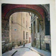 Arte: CALLE ROLLO MADRID 1959. Lote 43377545