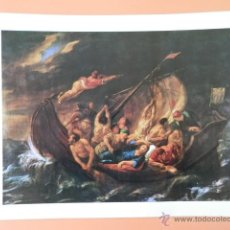 Arte: CHRISTUS UND DIE JÜNGER AUF DEM MEERE. UM 1650 - JAKOB JORDAENS (1593-1678). Lote 43581377