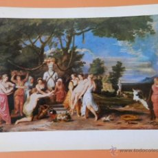 Arte: DAS PRIAPOSOPFER. 1650 - FRANZ WOUTERS (1612-1659). Lote 43581379