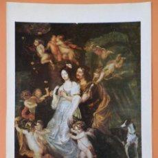 Arte: DIDO UND AENEAS IN DER HÖHLE. 1646 - THOMAS WILLEBOIRTS (1614-1654). Lote 43581394
