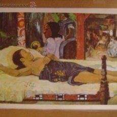 Arte: LÁMINA REPRODUCCIÓN DE TAHITÍ. PAUL GAUGUIN. Nº29. 1970. 32 X 22 CMS.. Lote 43791615