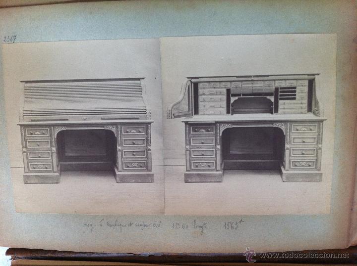 Arte: LE GARDE-MUEBLE. CATÁLOGO DE CORTINAS, ASIENTOS, MUEBLES...LÁMINAS NUMERADAS.COLOR Y B-N.FOTOGRAFÍAS - Foto 31 - 43948325