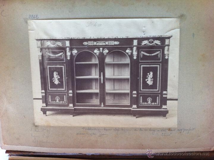 Arte: LE GARDE-MUEBLE. CATÁLOGO DE CORTINAS, ASIENTOS, MUEBLES...LÁMINAS NUMERADAS.COLOR Y B-N.FOTOGRAFÍAS - Foto 32 - 43948325