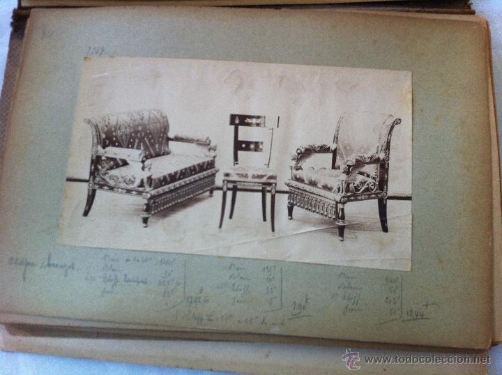 Arte: LE GARDE-MUEBLE. CATÁLOGO DE CORTINAS, ASIENTOS, MUEBLES...LÁMINAS NUMERADAS.COLOR Y B-N.FOTOGRAFÍAS - Foto 36 - 43948325