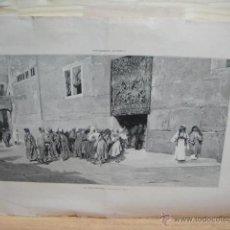 Arte: LITOGRAFIA SUPLEMENTO ARTISTICO - LA MAGDALENA. Lote 44904246
