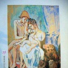 Art: LÁMINA DE PICASSO. Lote 18562874