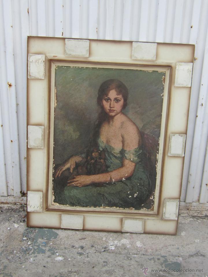 LAMINA ENMARCADA (Arte - Láminas Antiguas)