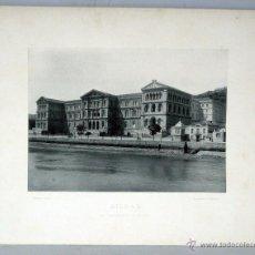 Arte: FOTOTIPIA HAUSER Y MENET BILBAO UNIVERSIDAD DEUSTO 1891 Nº 394 S XIX 32 CM X 25,5 CM. Lote 46092490