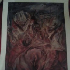 Arte: LAMINA O PRINT DE MUSEO ,EL RAPTO DE LAS MULATAS ,COLECCION MUSEO .. Lote 84570854