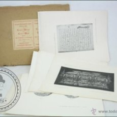Arte: CARPETA DE 50 LÁMINAS DEL TOMO CONGRESO DE HISTORIA DE LA CORONA DE ARAGÓN, DEDICADO A JAIME I, 1908. Lote 46205946