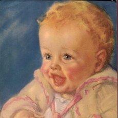 Arte: MAUD TOUSEY FANGEL / LAMINA TEMA INFANTIL / AÑOS 40/50 / 25,5 X 19. Lote 46447485