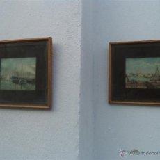 Arte: PAREJA DE LAMINAS. Lote 46720122
