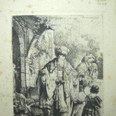 Arte: FACSIMIL REMBRANDT, 1673-AMSLER & RUTHARDT- BERLÍN, 1925. Lote 46944001