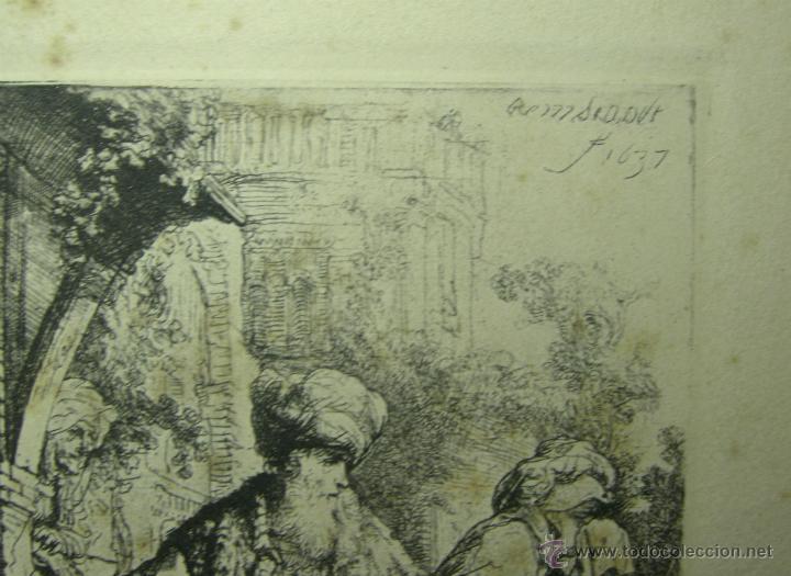 Arte: FACSIMIL REMBRANDT, 1673-AMSLER & RUTHARDT- BERLÍN, 1925 - Foto 2 - 46944001