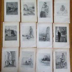 Arte: 12 LAMINAS -- DESCONOCEMOS EL NOMBRE DEL LIBRO ES FRANCÉS . Lote 47212082