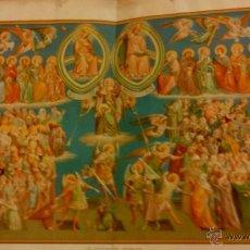 Arte: CUATRO GRABADOS-LAMINAS Y 58 GRABADOS CON TEXTO SIGUE EL CRISTIANISMO. Lote 47589639