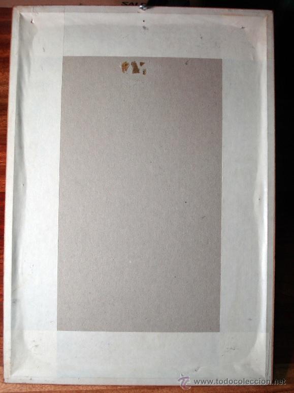 Arte: ALEGORÍA DE AMÉRICA ANTIGUA REPRODUCCIÓN DE LA CALCOGRAFÍA ORIGINAL ENMARCADA MUY BONITA - Foto 3 - 161980114