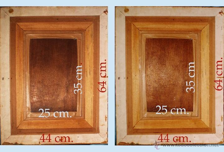 Arte: Reverso del cuadro. y medidas. - Foto 4 - 47664634