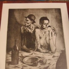 Arte: PICASSO . LA COMIDA FRUGAL. SPADEM-PARIS 1981. Lote 47810041