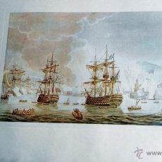 Arte: EDICIONES DE ARTE, BARCOS TRES LAMINAS, CARPETA DE 46X33 CM.. Lote 49069178