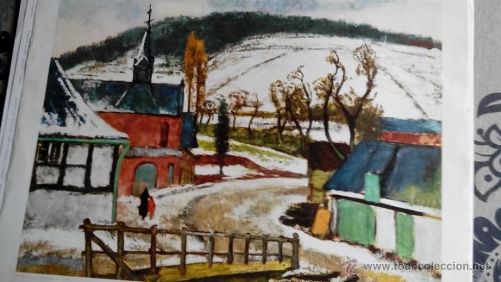 cuatro laminas para enmarcar paisajes modernos varios pintores arte lminas antiguas