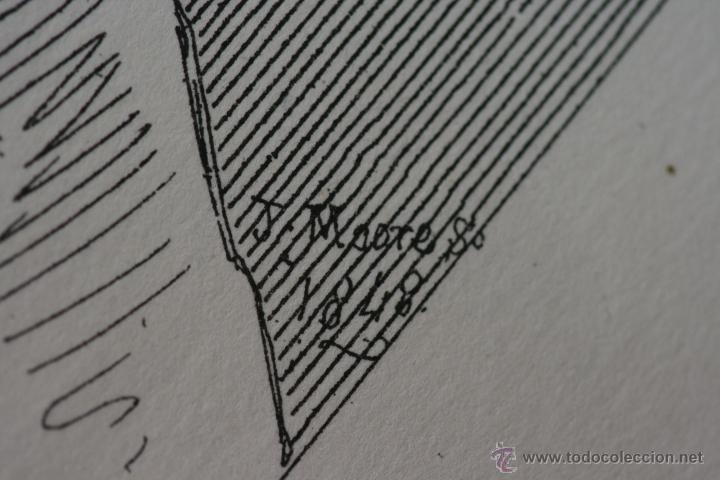 Arte: Cabezas. Lámina Siglo XIX (S.XIX). Cuadro. - Foto 5 - 49750808