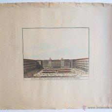 Arte: LA PLAZA MAYOR DE MADRID, DONDE SE CELEBRABAN FIESTAS TAURINAS. . Lote 49962807