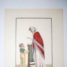 Arte: PLUS POSÉMENT. RECUEIL DES MODES DE LA COUR DE FRANCE. NICOLAS BONNART PINTÓ.. Lote 50418593