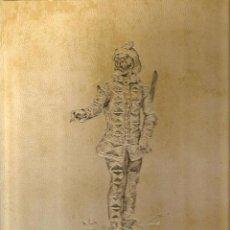 Arte: LIBRO CARPETA LA COMEDIA DELL ARTE , POR ALFREDO MARQUERIE ( COLECCION DE 40 LAMINAS ). Lote 51034007