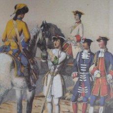 Arte: UNIFORMES MILITARES DE ESPAÑA.REINADO DE FELIPE V. COLEGIOS Y ESCUELAS MILITARES Y NAVALES. Lote 51150861