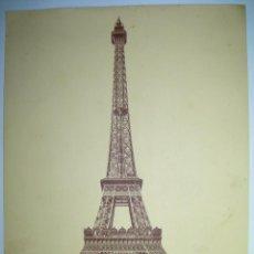 Arte: DOS LÁMINAS DE PARIS- AÑOS 20- 28 X 23 CM. TROCADERO Y TOUR EIFFEL. Lote 51234498