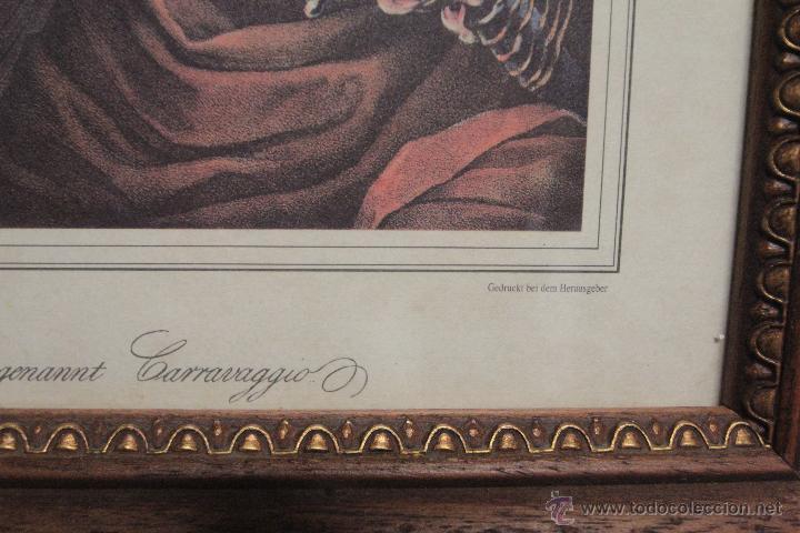Arte: Franz Hanfstaengl- GEDRUCKT BEI DEM HERAUSGEBER - Die Spieler von Michel Angelo Amérighi, - Foto 5 - 51412914