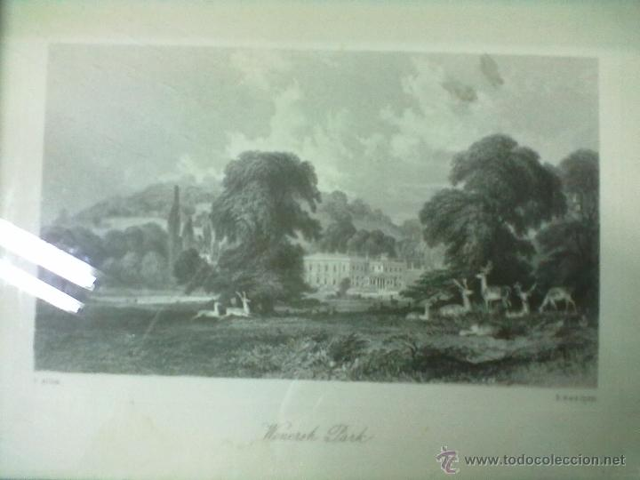 Arte: WONERSH PARK LAMINA ENMARCADA CON CRISTAL T. ALLON - Foto 2 - 51580348