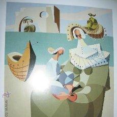 Arte: 16 LAMINAS DE -150 AÑOS DE PINTURA GALLEGA-(FARO DE VIGO Y CITROEN). Lote 25725514
