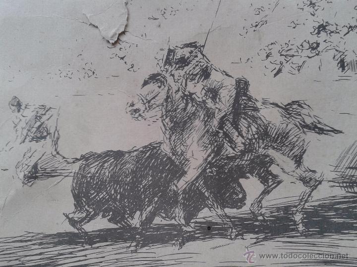 Arte: LÁMINA DE CORRIDA DE TOROS DE ANTONIO CASERO. MADRID 1965 - Foto 4 - 191861920