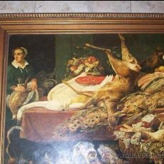 Arte: MARCO CON LÁMINA FLAMENCA PEGADA A TABLEX. Lote 37519929