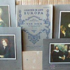 Arte: VAN DICK-10 LAMINAS COLECCION DE ARTE EUROPA -2 EDICION. Lote 53012414