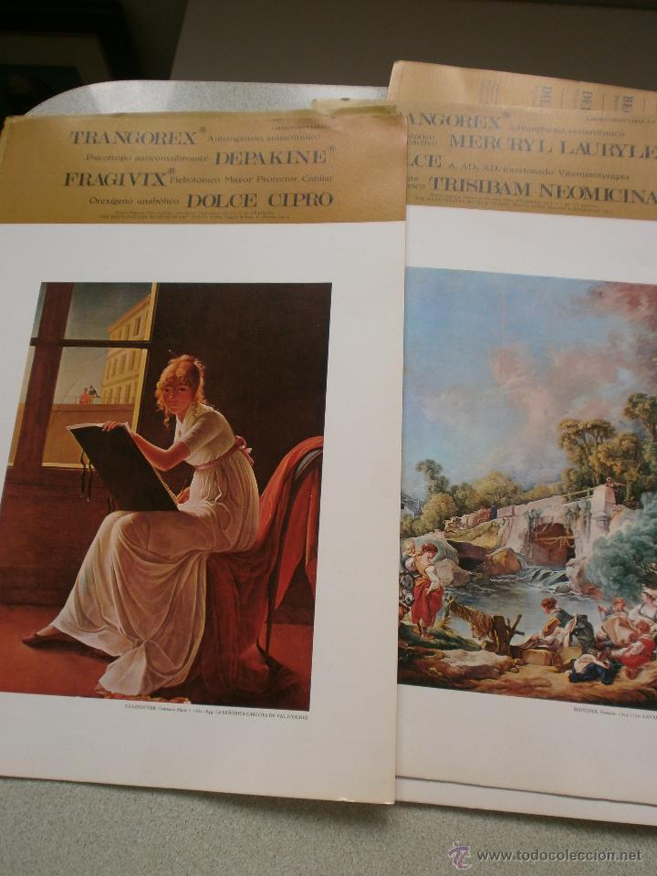 COLECCION DE LAMINAS DE LABORATORIOS HAROFARMA DE 1960 (Arte - Láminas Antiguas)