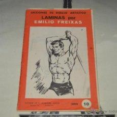 Arte: EMILIO FREIXAS LECCIONES DE DIBUJO SERIE 10 CON MUCHAS LAMINAS VER FOTOS PM. Lote 53438811