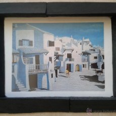 Arte: RICARD ADMETLLA - LAMINA ENMARCADA CRISTAL ANTI-REFLEJOS 26 X 21. Lote 53996690
